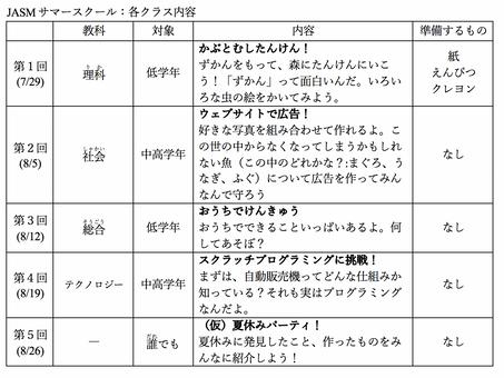 日本語でオンラインサマースクール