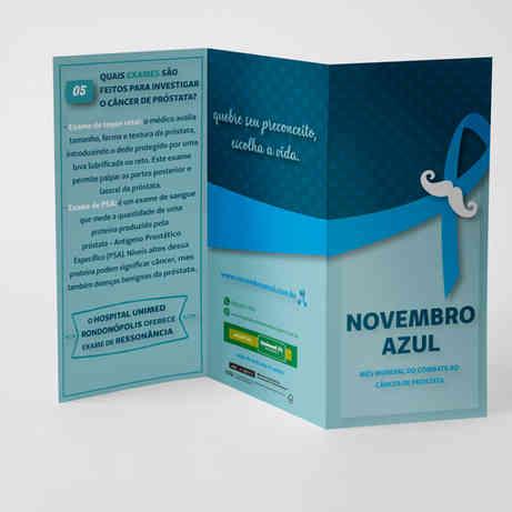Folder Unimed Rondonópolis
