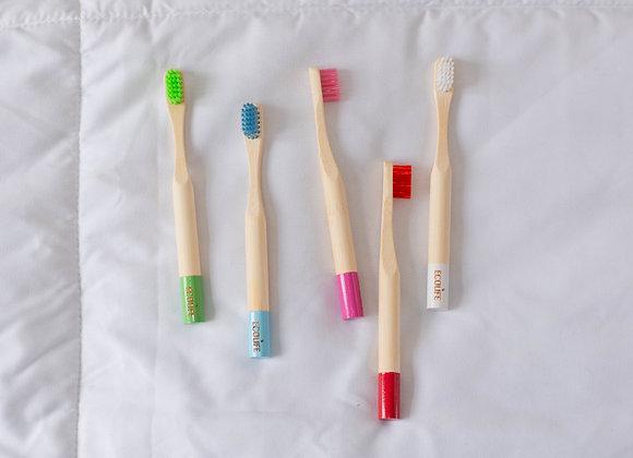 Kids Bamboo Toothbrush Packs