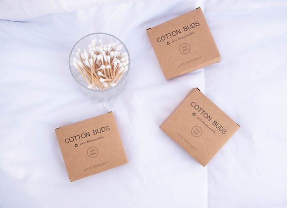 Bamboo Cotton Bud Pack