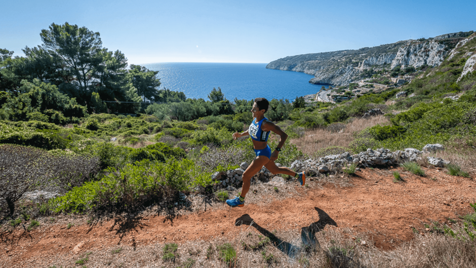Runners in Puglia