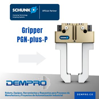PGN-plus-P de Schunk, el gripper más versátil para todas las aplicaciones