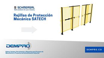 Rejillas de protección mecánica SATECH de Schmersal