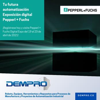 Primera exposición digital de Pepperl + Fuchs!