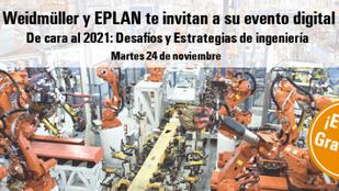 Weidmuller y Eplan te invitan a su evento digital