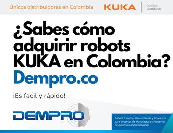 """¿Sabes cómo adquirir robots KUKA en Colombia? ¡Es fácil y rápido!"""""""