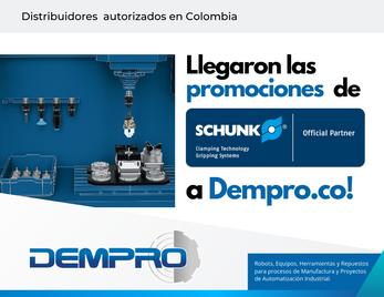 ¡Llegaron las promociones de SCHUNK a Dempro!