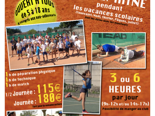 STAGES TENNIS TOUSSAINT