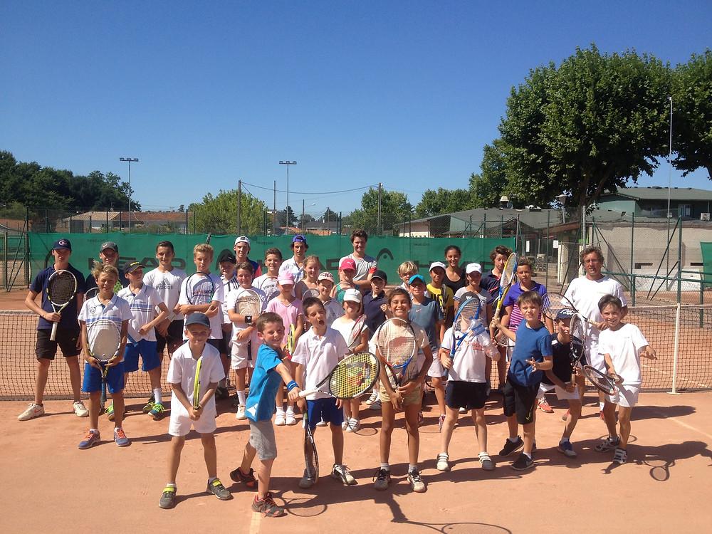 Stage de tennis à Bordeaux -Stade Bordelais-