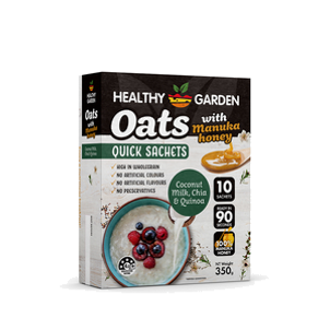 Quick Oats with Manuka Honey Coconut Mil
