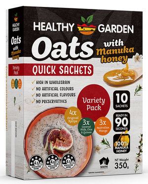 QUICK OATS WITH MANUKA HONEY VARIETY PACK