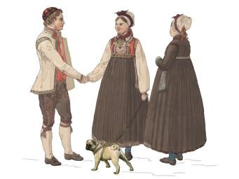 Hallingdal - retelling of Flintoe