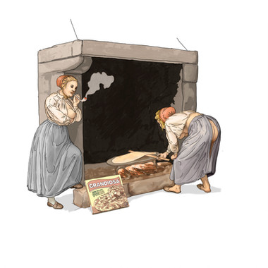 Baking girls- retelling of Flintoe