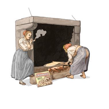 Baking girls- retelling of Flintoe