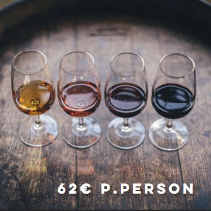 Wine Tasting – German young innovative wineries (Secco, White, Red)