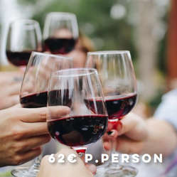 Wine Tasting – Redwine in all facets (Red, Red, Red)
