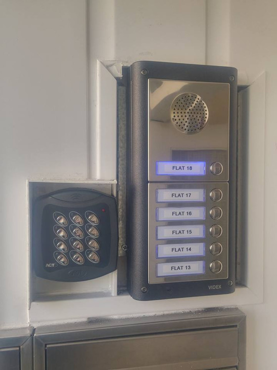 Plymouth Apartments Door Entry System