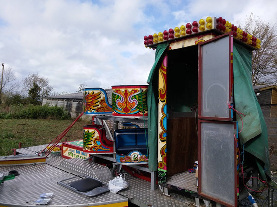 Cornwall Fairground Ride