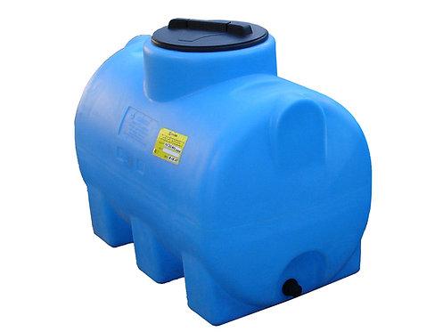 Пластиковая емкость 300л горизонтальная  (КОД МН300ФК2З)