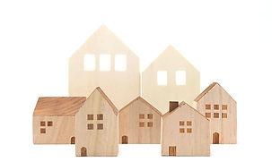 Casas de madera de juguete