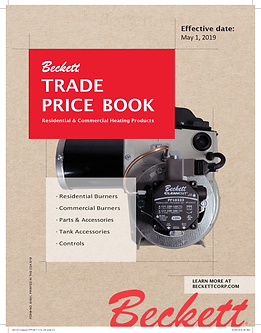 Front Cover 2019-2020 Trade Price Book (