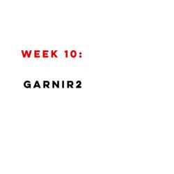 WEEK 10 FINAL