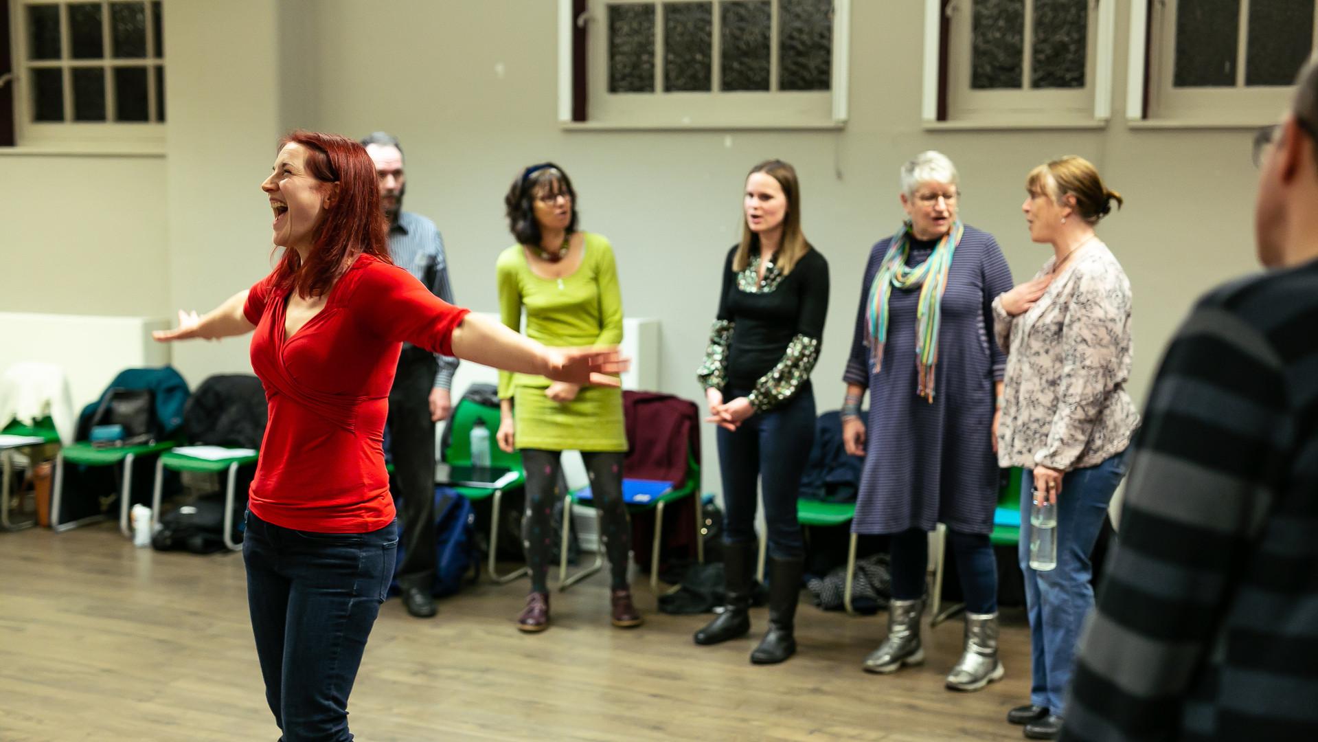 Palace Acappella Choir. Credit Harry Livingstone.