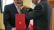 "Luigi de Luca, SMATCH Vice President, Awarded the Title of ""Grande Ufficiale"" of the Order"