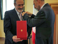 """Luigi de Luca, SMATCH Vice President, Awarded the Title of """"Grande Ufficiale"""" of the Order"""