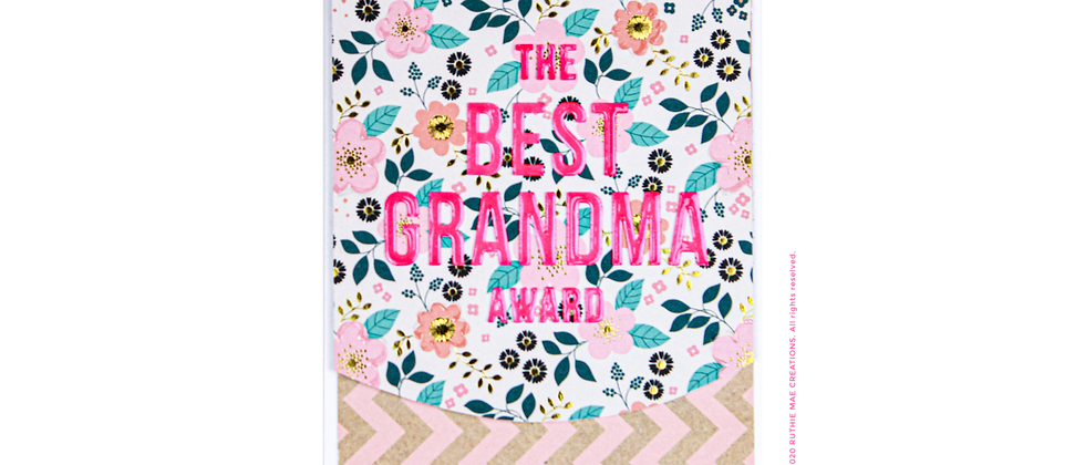 The Best Grandma Award