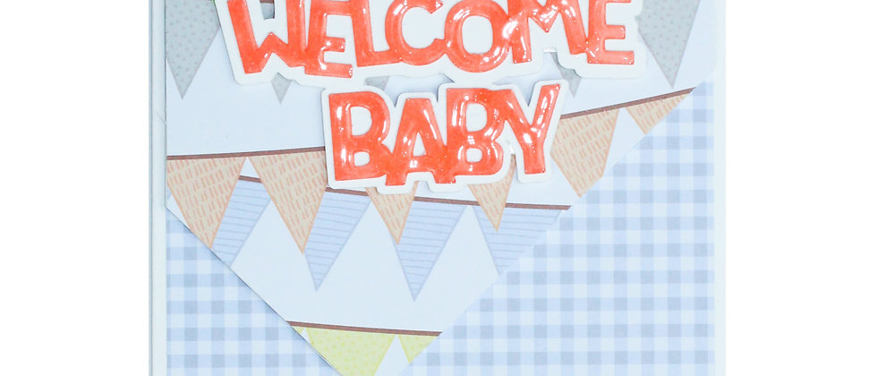 Welcome Baby - Orange