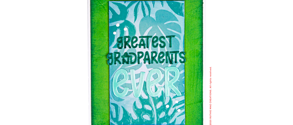 Greatest Grandparents Ever.