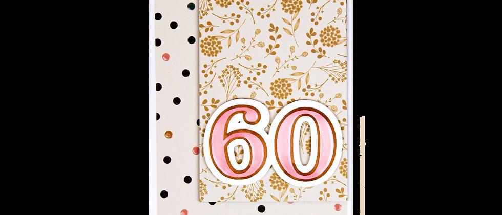 Sixty.