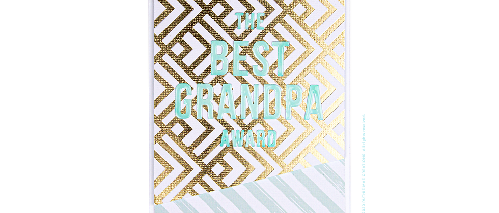 The Best Grandpa Award