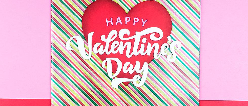 Candy Stripe Valentine