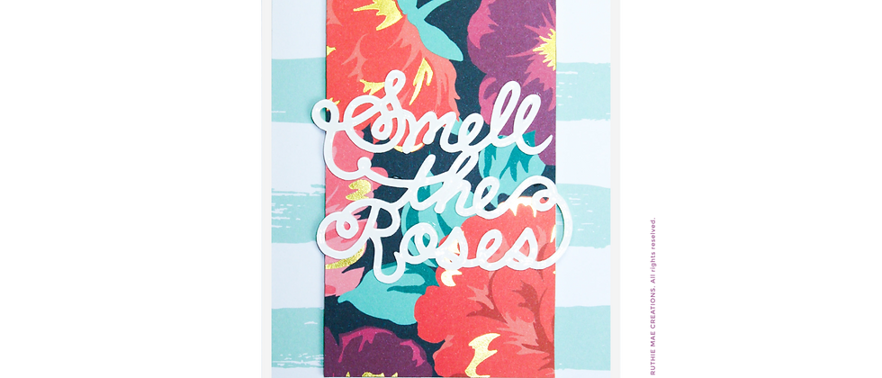 Smell The Roses -Blue/Pink