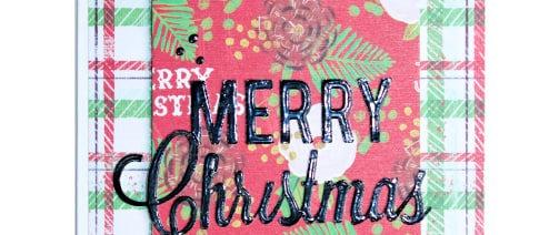 Merry Christmas - Pine