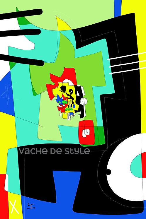 VanLuc Tapis Vache de Style