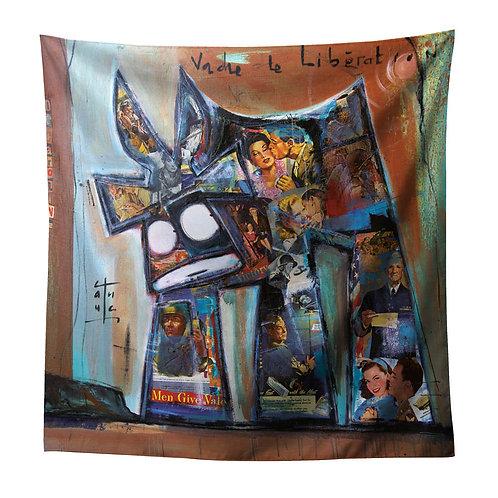Decaroline foulard Libération