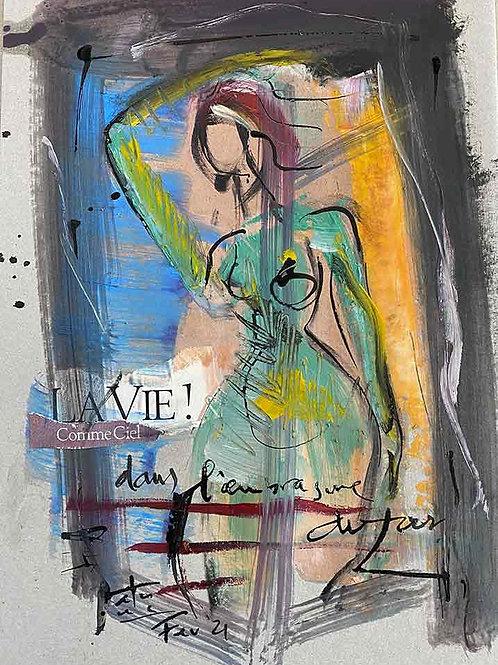 VanLuc Dessin création La Vie