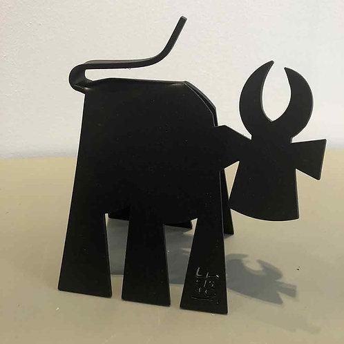 VanLuc Vache de Métal format S création 109