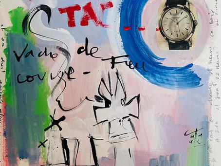 """COVID-20 série """"couvre-feu"""", artiste VanLuc"""