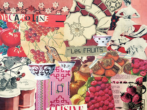 Decaroline Set de table Fruits