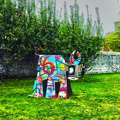 """VanLuc Vache de Métal """"Innovation"""" 180cm"""