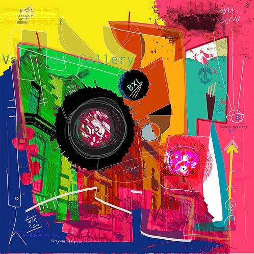 VanLuc Digital Art Vache de Gallery