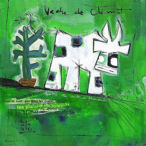 VanLuc carte-postale Vache de Climat