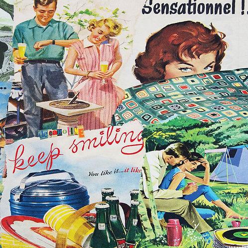 Decaroline carte-postale Keep smiling