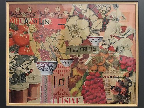 Decaroline Tableau Les Fruits