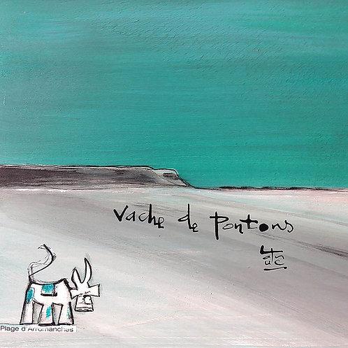 VanLuc carte-postale Vache de Pontons