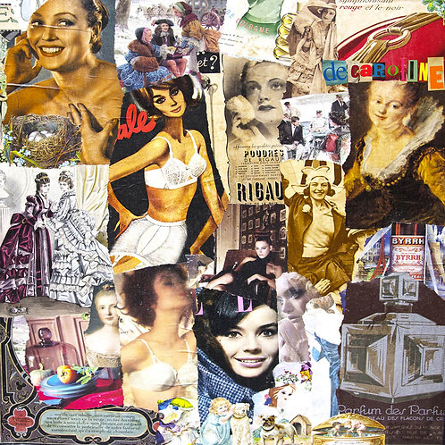 Decaroline carte-postale Femmes Elles